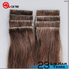 2015 Wholesale Factory Cheap Price Indian Virgin Remy Human Hair PU Skin Weft Double Sided