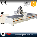 2016 new design double vacuum table 3d cnc wood carving router