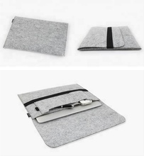 Laptop Wool Felt Sleeve Case Cover Bag For 13 15 inch Apple MacBook Pro
