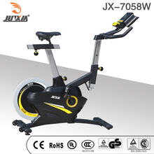 Hot sale Magnetic Spinning Bike with transport wheels/Home Exercise Bike