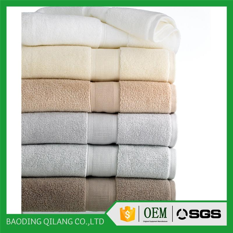 wholesale high quality 5 star white Luxury 100% cotton hotel towel