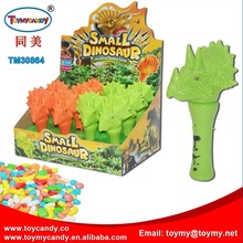 2018 wholesale china toy factory good selling lighting and sound dinosaur toys for kids with candy favorite gift