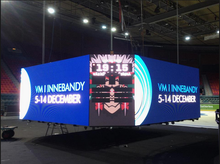 High density light wight slim pixel pitch 4mm p4 SMD video indoor led billboard display SGI-P4