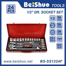 "24 PCS 1/2"" Master Hand Tool Mechanical automotive tools"