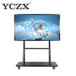 Multi writing touch screen interactive whiteboard smart board with video conference function
