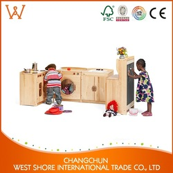 Hot Sale Product children cabinet solid oak furniture for nursery Factory Price