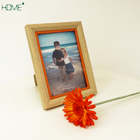 5*7 Open MDF Wood Photo Frame Natural Wood Frame