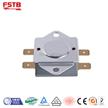 KSD306 Manual Reset Temperature Cutoff Switch Thermal Protector Bimetal Thermostat Thermal Switch
