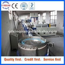 plastic corrugated irrigation pipe production line