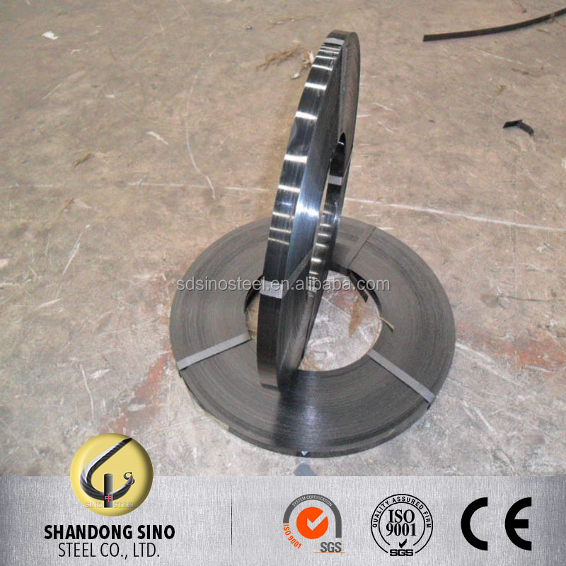 Q235/Q345/10# Black Painted Steel Strapping/Strip/Band