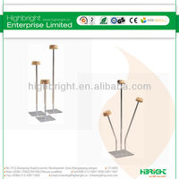 3-way perspex hat stand