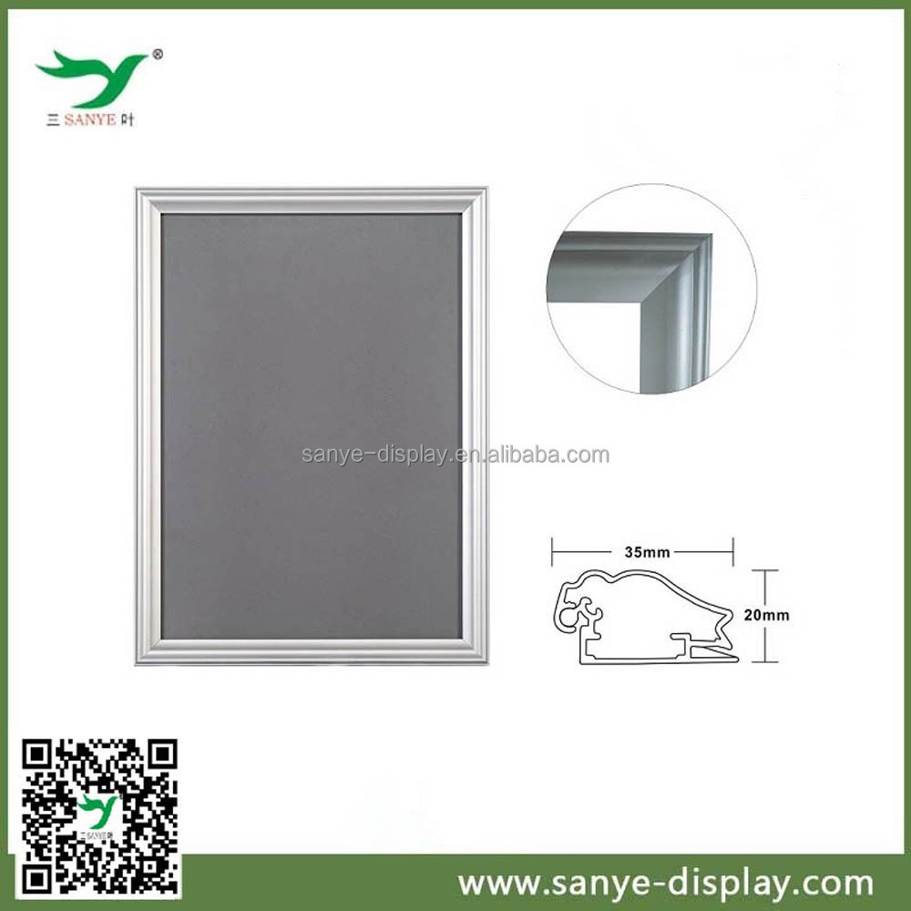 35mm curved aluminium snap picture framing shenzhen