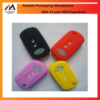 Protective Silicone Car Key Cover Rubber Plastic Injection Mold Maker