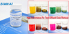 Quaternary cationic product BWD-01 for disperse dyestuffs