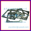 custom nbr rectangular flange_rubber flange