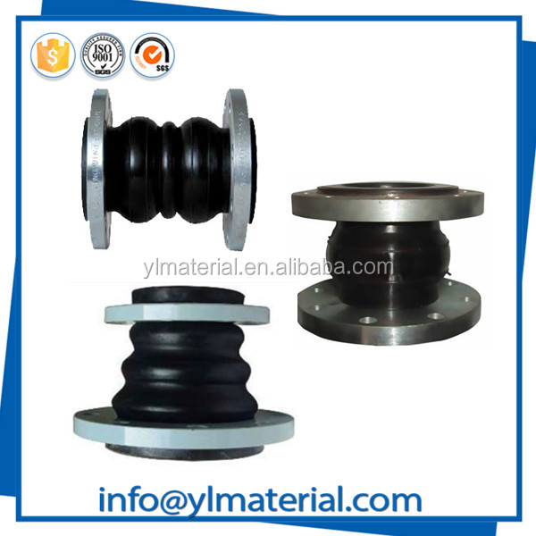 For water drainage corrugated diaphragm flexible rubber pipe connectors