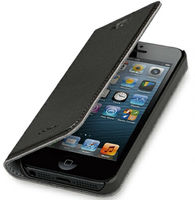 For iphone5 leather case pu case for iphone 5