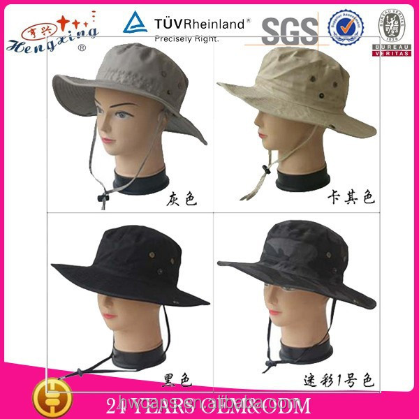 Fashion wholesale custom funny fishing hats
