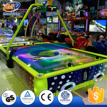 2017 new products kids lottery game machine 4 player air hockey games table