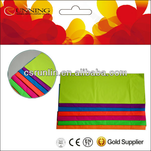 Normal color tissue paper for wrapping shoes