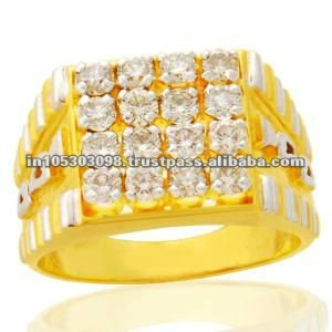 Gents Gold Diamond Rings