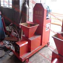 Hot selling low noise energy saving homemade briquette making machine for biomass fuel