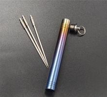 reusable unique titanium metal toothpicks for sale