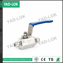YAD-LOK Oem High Clean Panel Mount Ball Valve Normal Temperature