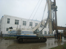 second hand soilmec hydraulic foundation drilling rig, professional manufacturer of drilling rigs