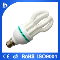 beautiful shape Lotus CFL hotsale light bulbs energy saving 26w