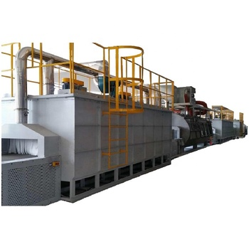 Continuous Gas Power  Atmosphere Aluminum Brazing Furnace For Condensed and Radiator Cores