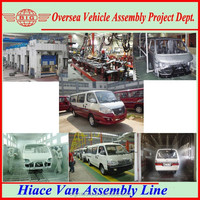 Export China-made van mini bus in SKD/CKD throughout the world for assembling in local