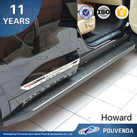 high quality car running board side step For toyota highlander 2015 modified cars 4x4 accessories