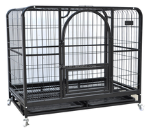 wholesale home & garden high quality square tube metal dog cage / dog kennel / pet house