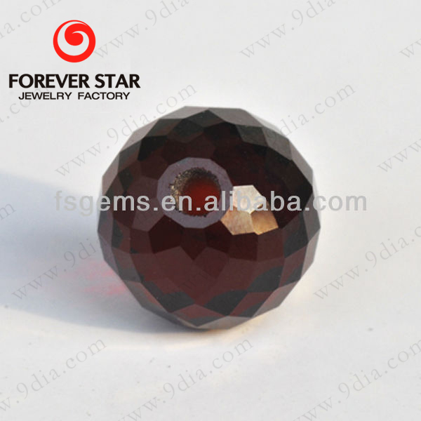 2GN07020A Facet Ball 8mm Chinese Garnet Stone Bead Good Quality and Factory Price