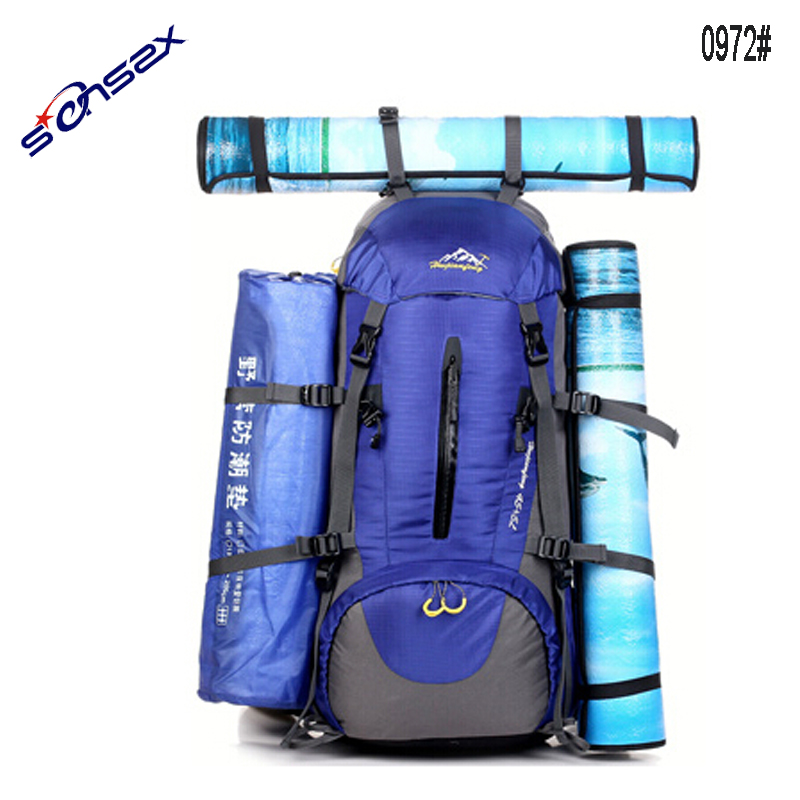 45+5L outdoor sport traveling backpacks bag camping bagpacks