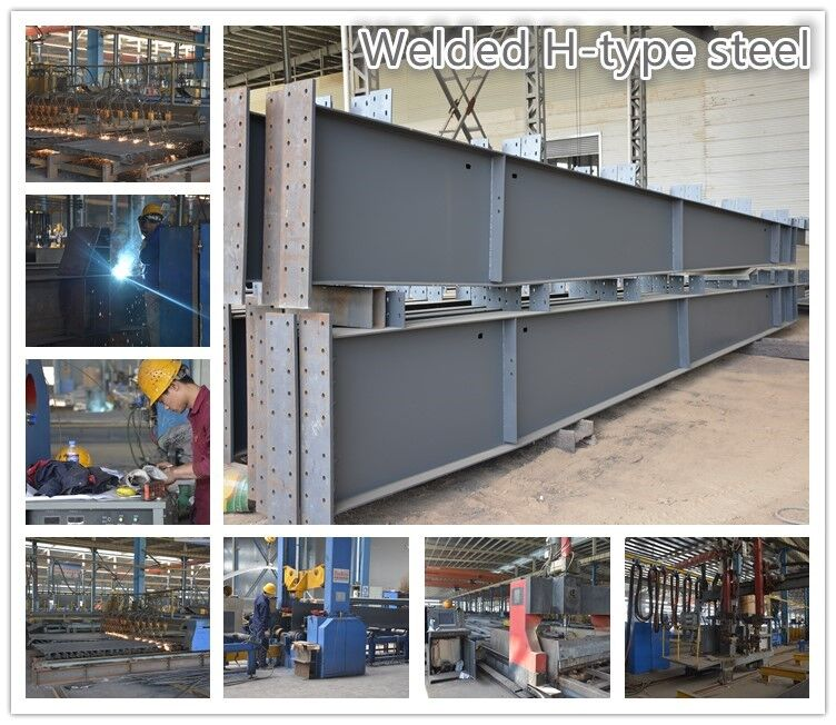 Steel structural construction factory building prefabricated warehouse plant project