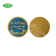 High quality coin soft enamel coin metal coin oem from China manufacture