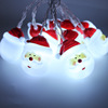 FZS-AC13 1.5m/10 LED Santa Claus String Lights Indoor and Outdoor Decoration for Christmas Festival Party Wedding Amazon