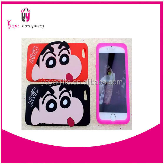 fashion silicone cell phone case for iphone 6case