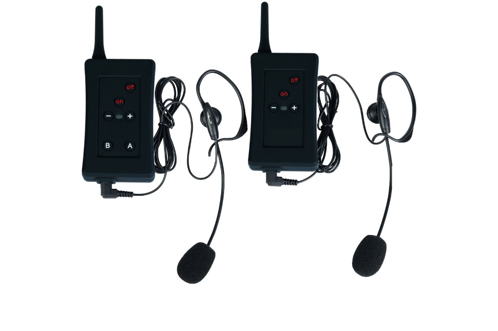 2017 Hot sell product football communications radios kit two riders up to 1200m football helmet referee accessories