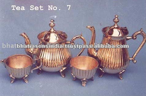 Copper Silver Plated Tea sets