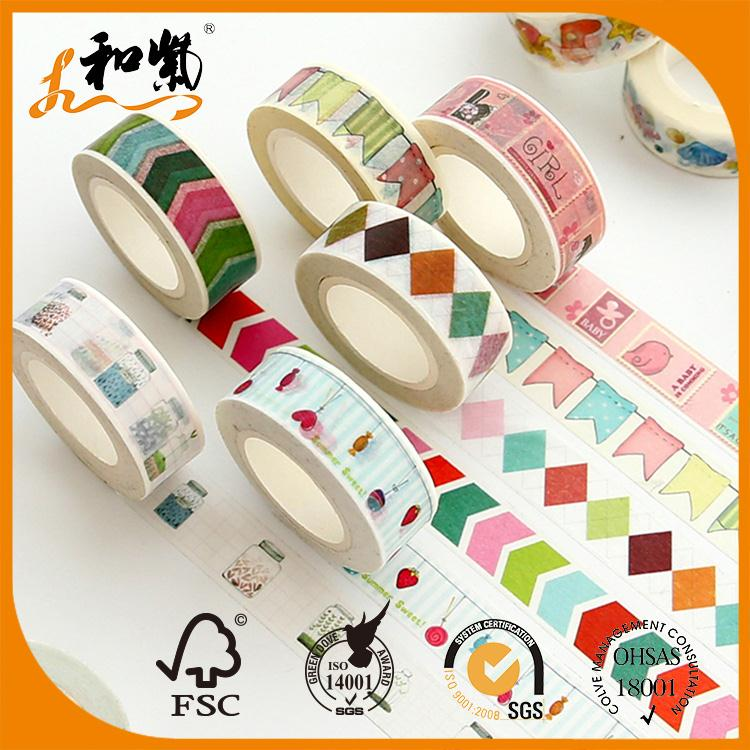 NEW Washi Tape peal color