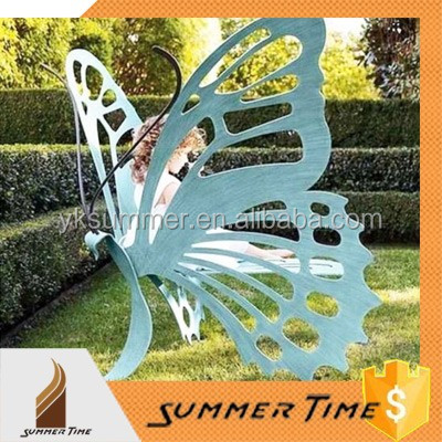 The butterfly Garden art chair for family furniture Outdoor Yard for sale