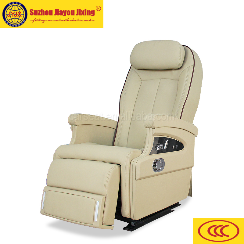 China manufacturer car seat vans with electric footrest