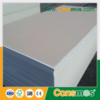 china supplier soundproof vinyl coated gypsum board