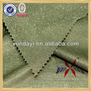 gleamy yarn dyed high quality fashion spark pk fabric for t-shirt
