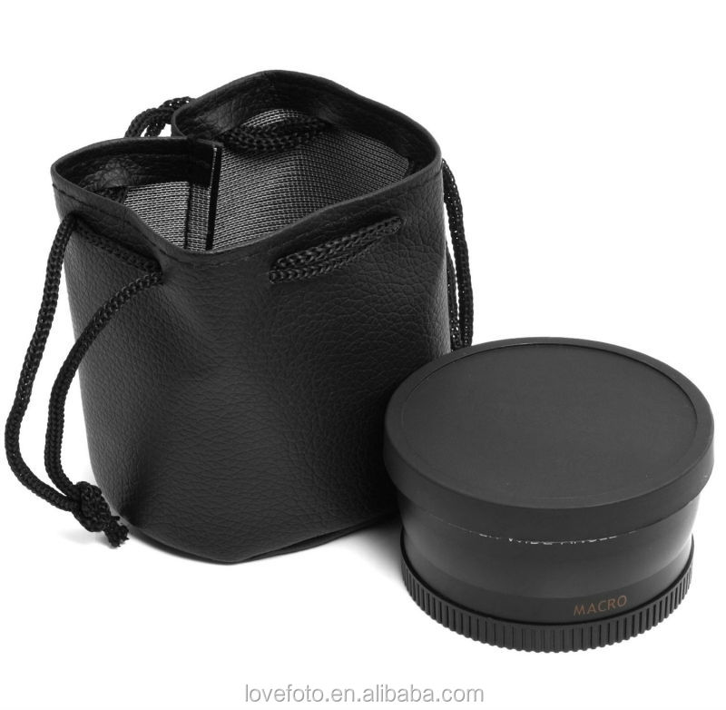 0.45X 58mm Wide Angle Lens with Macro for 350D / 400D / 450D / 500D / 1000D / 550D / 600D / 1100D