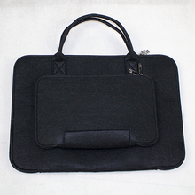 100% polyester felt laptop bag from china