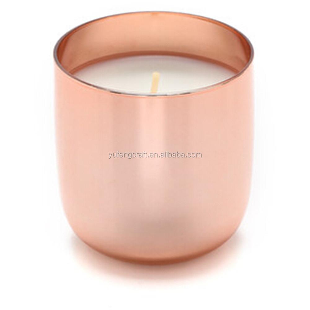 photophore bougies avec cuivre cuivre poli bougie tasse mini bougie pot avec m tal. Black Bedroom Furniture Sets. Home Design Ideas
